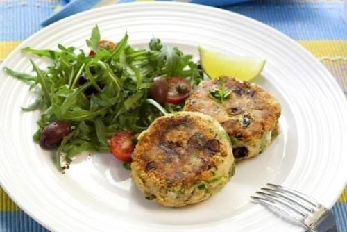 Готуємо корисні страви: котлети зі шпинатом