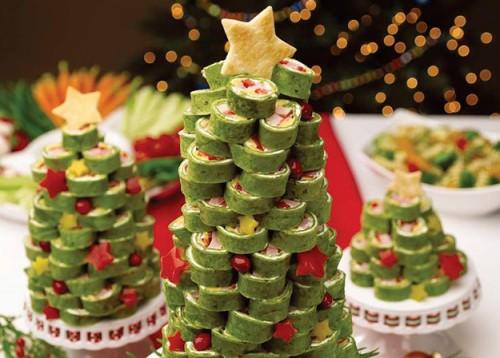Готуємося до Нового року: несолодкі закуски у вигляді новорічних ялинок