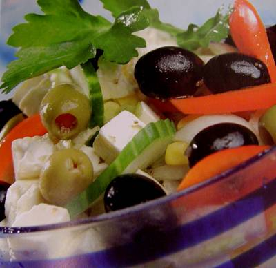 Грецький салат: Рецепт і особливості приготування