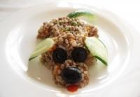 Гречана кашка з яловичиною та овочами