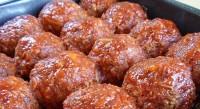 Гречано-грибні пісні тефтелі в соусі