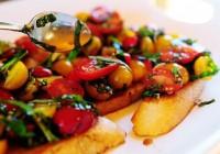 Грінки з овочами до сніданку «Брускетта»