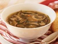 Грибний дієтичний суп з капустою, квасолею, горохом