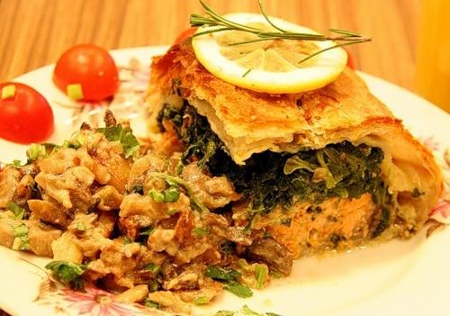 Грибний пиріг «Апетитний»