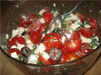 Грибний салат з оливками