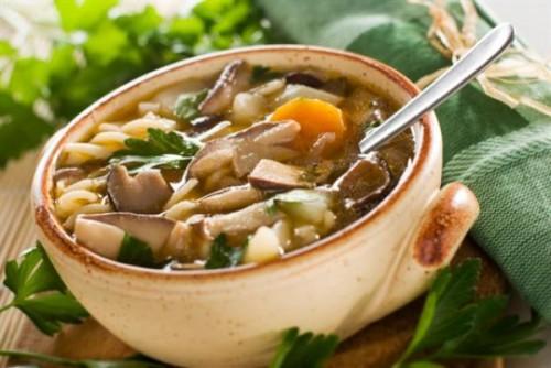 Грибний суп - корисно і дуже смачно