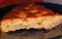 Грушево-медовий пісний пиріг