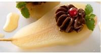 Груші з шоколадним кремом