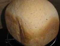 Хліб з цибулею і чорним перцем