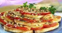 Хлібна запіканка з помідорами