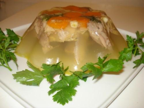 Холодець - рецепт приготування домашнього холодцю