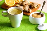 Холодний апельсиновий чай з льодом