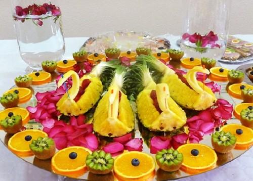 Ідеї оформлення фруктових тарілок