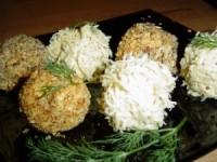 Ікорно-сирні кульки