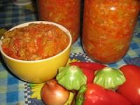 Ікра з овочів «Літаюча тарілка»