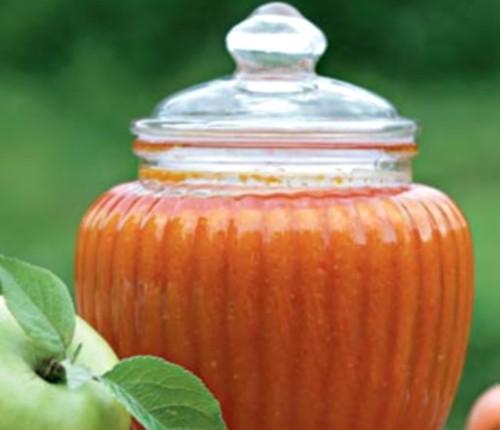 Ікра «Помаранчева» з яблук і овочів