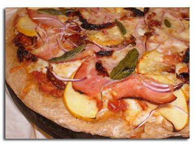 Яблучна піца
