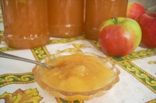 Яблучно-карамелеве варення