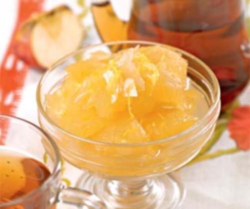 Яблучне варення з медом та імбиром