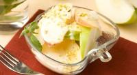 Яблука з фісташками і йогуртом