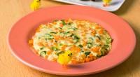 Яєчня з овочами «Перепелине яєчко»