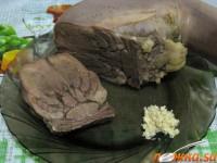 Язик яловичий ароматний