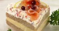 «Елітний» бутербродний торт