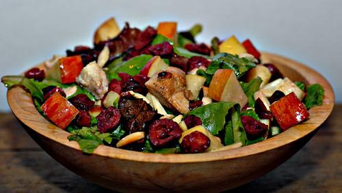 Ювілейний салат з куркою