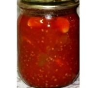 Кабачково-томатний соус-заготівля