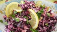 Капустяний салат Коул-слоу з лимонним соком