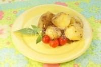 Картопля в «срібному халатику»