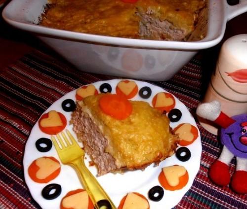 Картопляна шапочка на курці