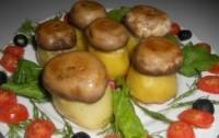 Картопляно-грибний новорічна закуска