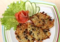 Картопляно-грибні млинці
