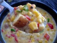 Картопляно-кукурудзяний дієтичний суп