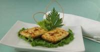 Картопляні бутерброди з бринзою