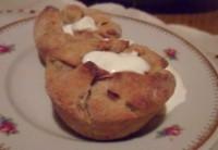Картопляні пиріжки-кекси з капустою