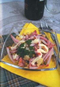 Картопляний салат з печерицями