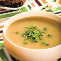 Картопляний суп-пюре по-румунськи