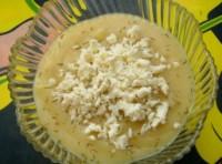Картопляний суп з кольоровою капустою і сиром