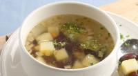 Картопляний супчик з бобовими