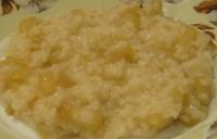 Кашка рисова з грушами