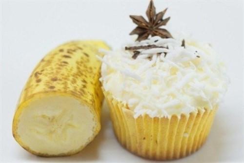 Кекси ванільні з бананом