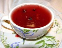 Кисіль на червоному вині й варення