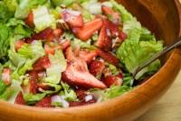 Полуничний салат