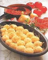 Кнедлики з вареної картоплі