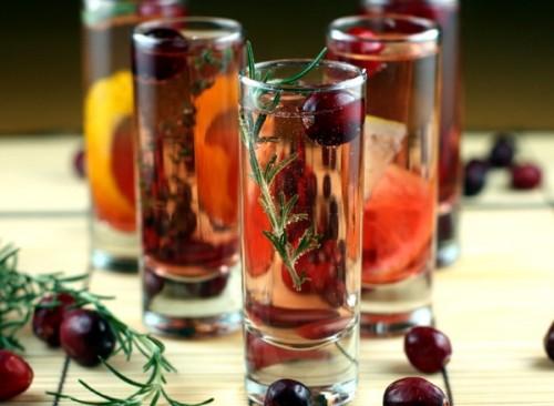 Коктейль-пунш з вином і шампанським «Лафайєт»
