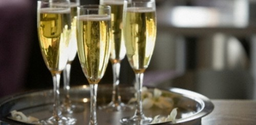 Коктейль з бренді і шампанським «1940-ті»