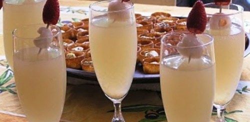 Коктейль з горілкою «Імбирне шампанське»