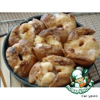 Компот з печених яблук